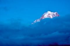2 Drus au crépuscule Mont-Blanc