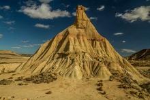 Desert-des-Bardenas-Castil-de-tierra-cheminée-de-fée
