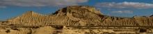 Desert-des-Bardenas-Reales-Espagne-paysage-panoramique