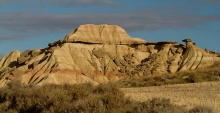 Desert-des-Bardenas-Reales-photo-paysage-relief