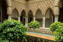 photo-architecture-Alcazar-del-rey-Séville-Andalousie-espagne