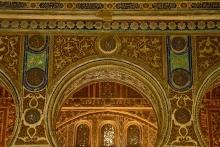 photo-architecture-arc-Alcazar-del-rey-Séville-Andalousie