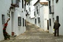 photo-paysage-rue-de-Grazalema-Village-blanc-Andalousie-Espagne